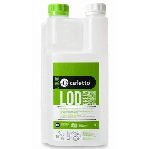 Cafetto Liquid Organic Descaler (1 Litre) [LOD Green]