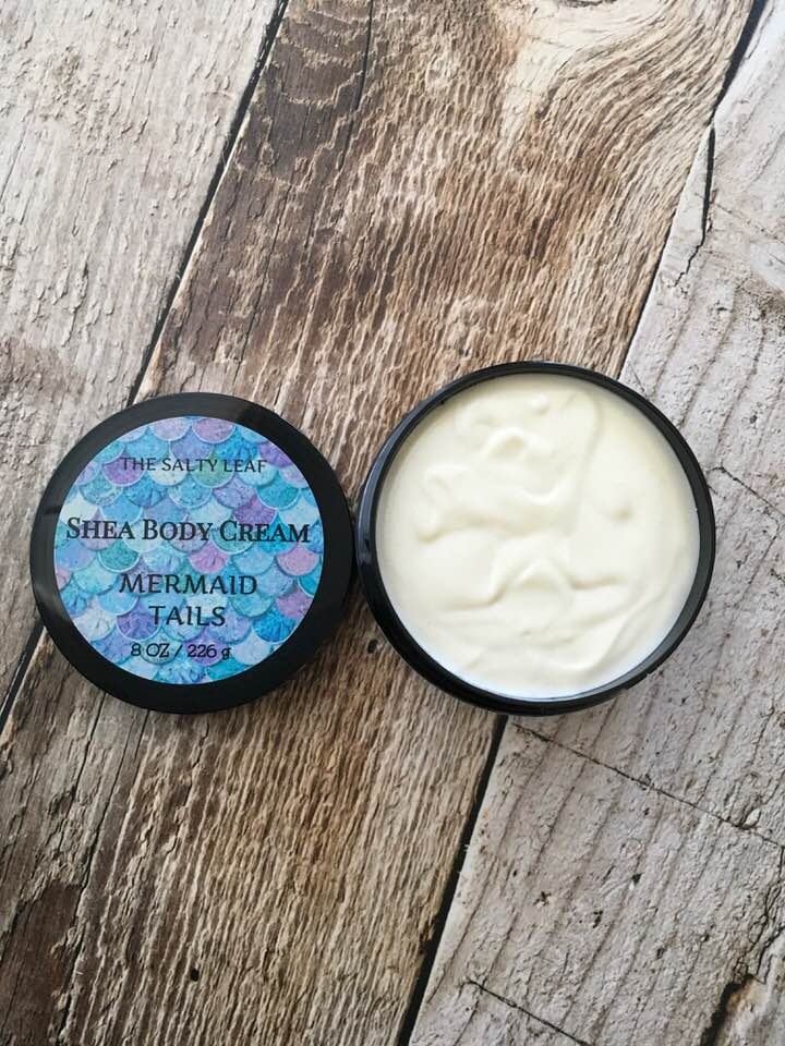 Mermaid Tails Shea Body Cream