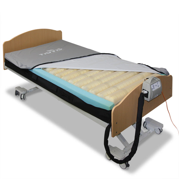 Mattress Novis Cairmax Duo Foam Air Support - half cover