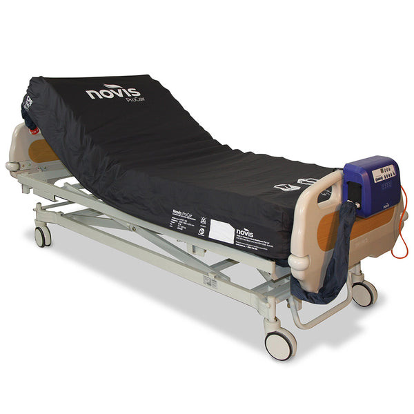 Mattress Novis Procair 3 Alternating Replacement System - on bed