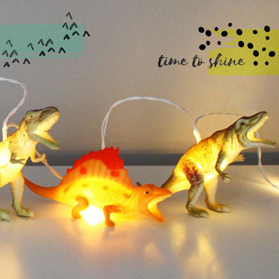 Dinosaur Natural String Lights - House of Disaster
