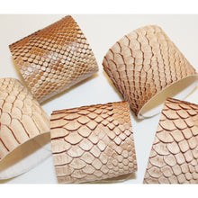 Load image into Gallery viewer, Snake Skin Cuff