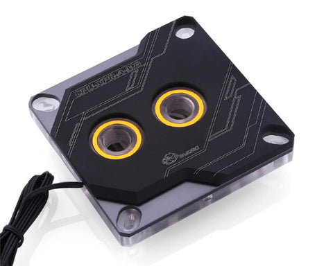 Bykski CPU-XPR-A-MG CPU Water Cooling Block - Black w/ 12v RGB (LGA 115x /1366/ 20xx)