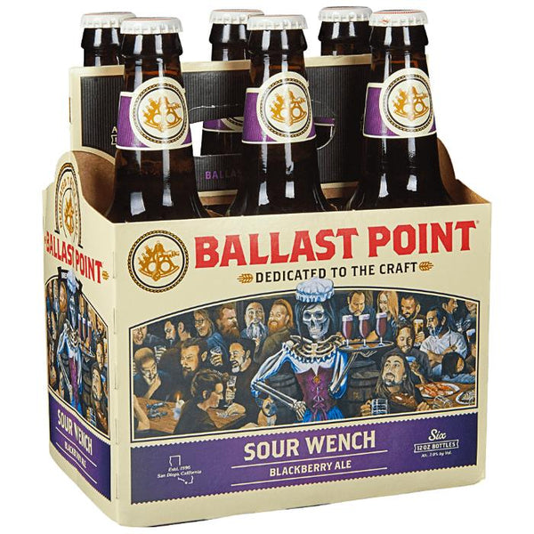 Ballast Point Sour Wench Blackberry Ale Beer Ballast Point