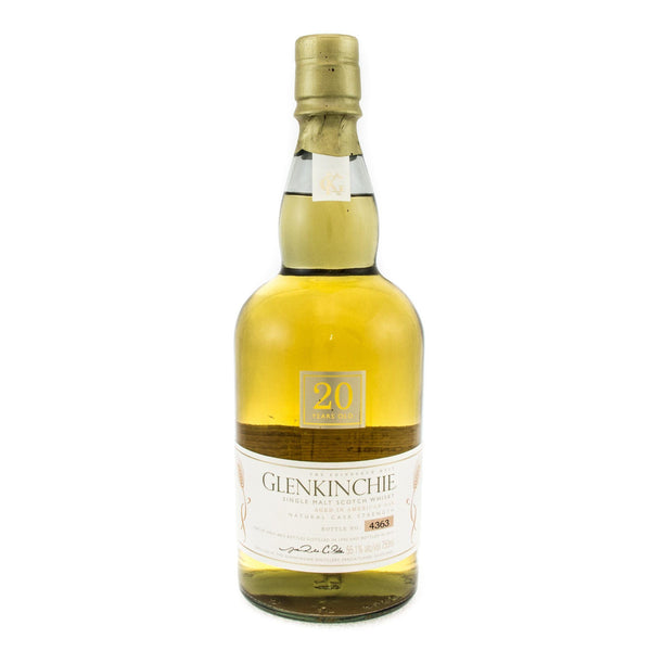 Glenkinchie 20 Years Old Scotch Glenkinchie