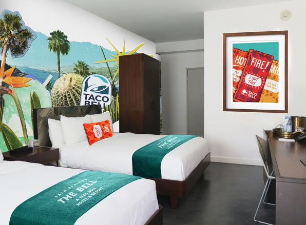 Reservations for Taco Bell's hotel sell out in 2 minutes