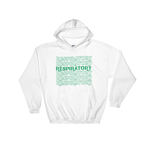 Respiratory Stack High Hoodie Green