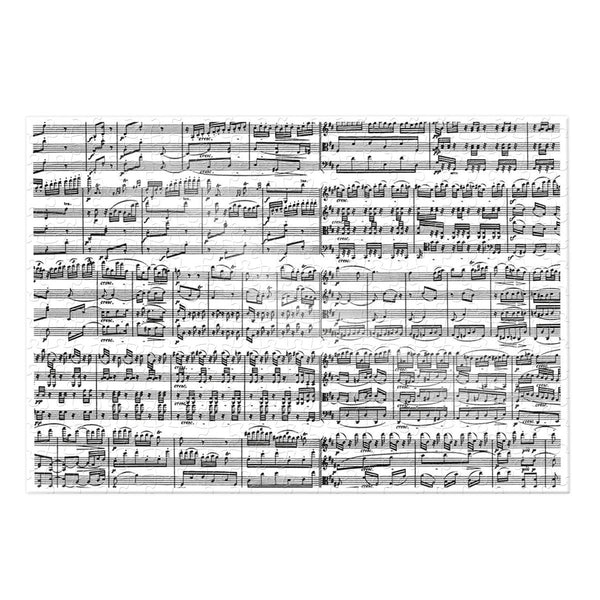 Musical Notes 1000 Piece Puzzle