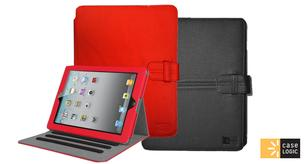 Case Logic Folio Case for Apple iPad 2/3/4 - Black or Red Tablet Computer Docks & Stands
