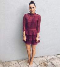 Load image into Gallery viewer, Caya Dress - Burgundy