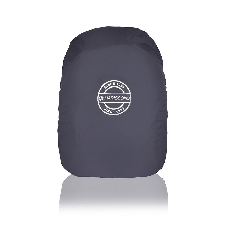 Harissons Polyester Rain Cover Black Waterproof Backpack Protector