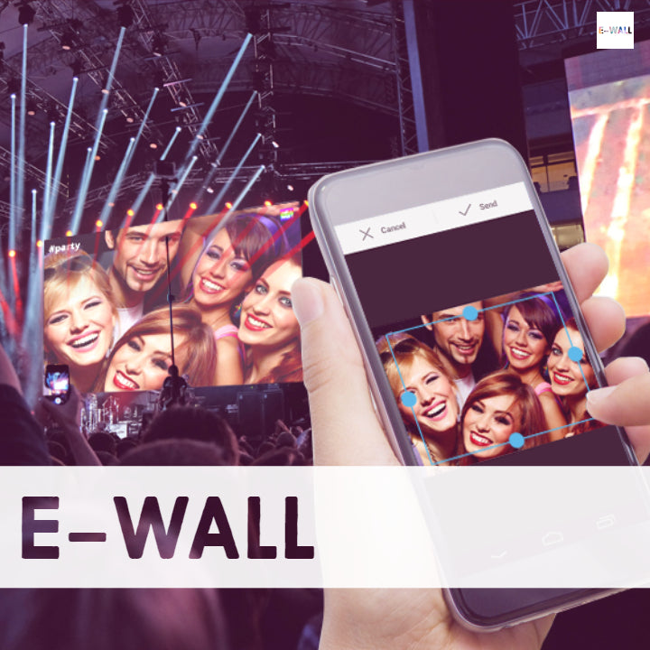 E-WALL ANIMATION - COLLECTIF DJ's