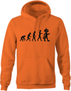Evolution of Halloween Hoodie - Haunt Shirts