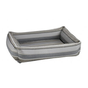 Boardwalk Stripe Outdoor Urban Lounger Dog Bed