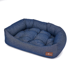 Levi Canvas Napper Dog Bed