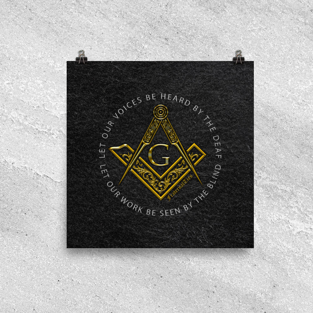 "Freemasons Sacred Word (S&C with ""G"")"