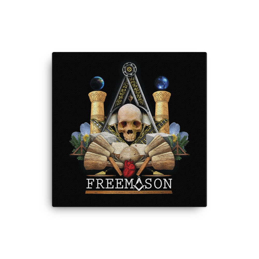 Freemason Poster Canvas Print