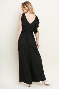 Ruffle Sleeve Jumpsuit - Other Colors Available