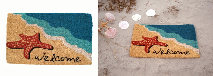 Starfish Welcome Mat