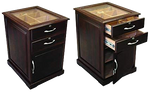 End Table Cabinet Humidor