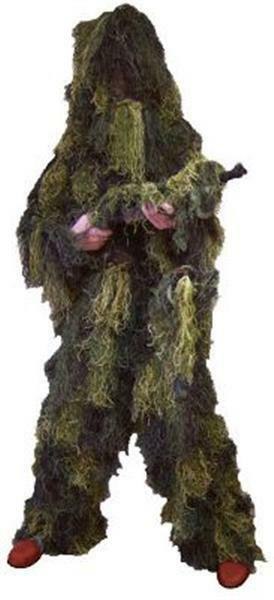 Kid's Ghillie Suit Woodland Camouflage - Red Rock Outdoor Gear - Youth Sizes