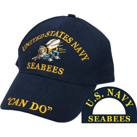 U.S. Navy SeaBees Ballcap - Can Do