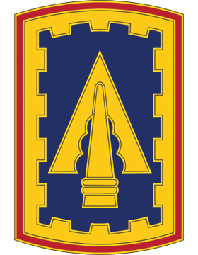 108th ADA CSIB - Army Combat Service Identification Badge