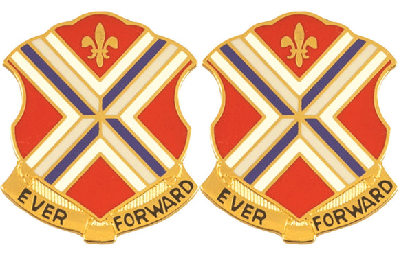 116th Infantry Distinctive Unit Insignia - Pair - Ever Forward