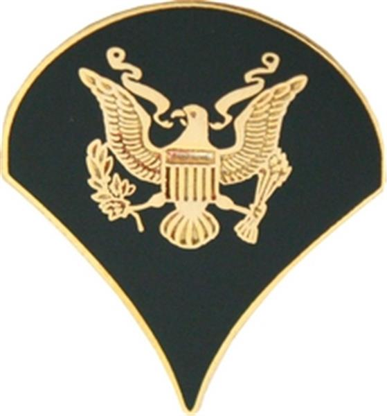 U.S. Army Spec 4 (Colored) Small Hat Pin