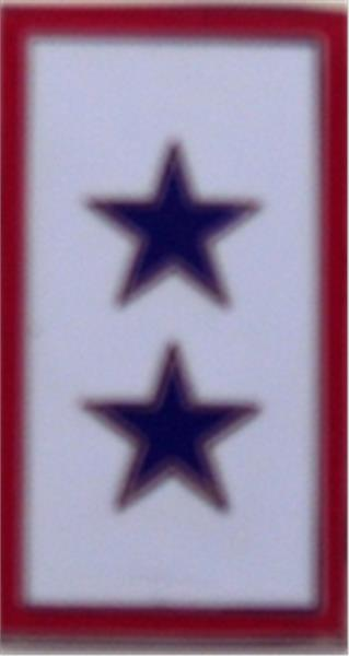 2 Blue Star Service Flag Small Hat Pin