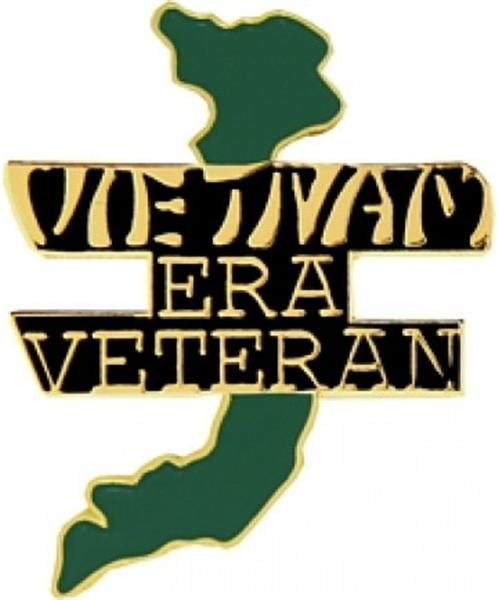 Vietnam Era Veteran Small Hat Pin