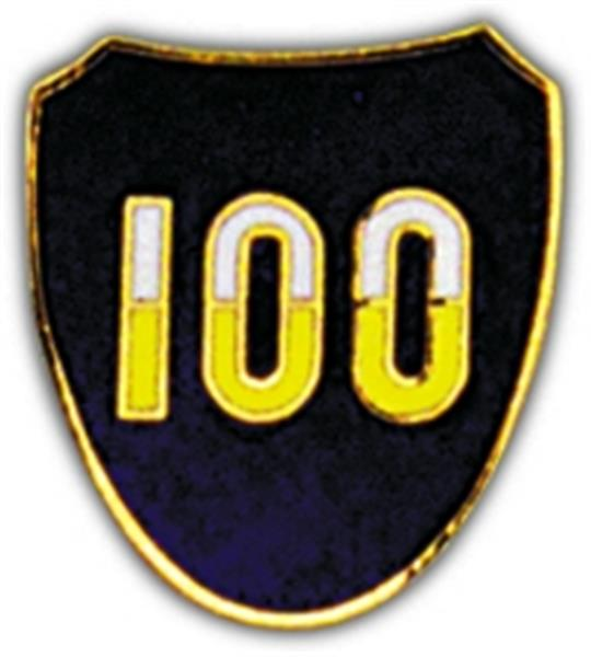 100th Division Small Hat Pin