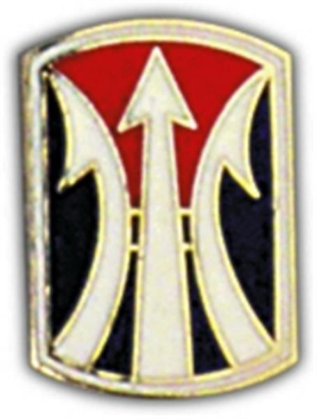 11th Infantry Brigade Small Hat Pin