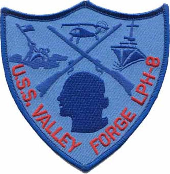 U.S.S. Valley Forge USMC Patch