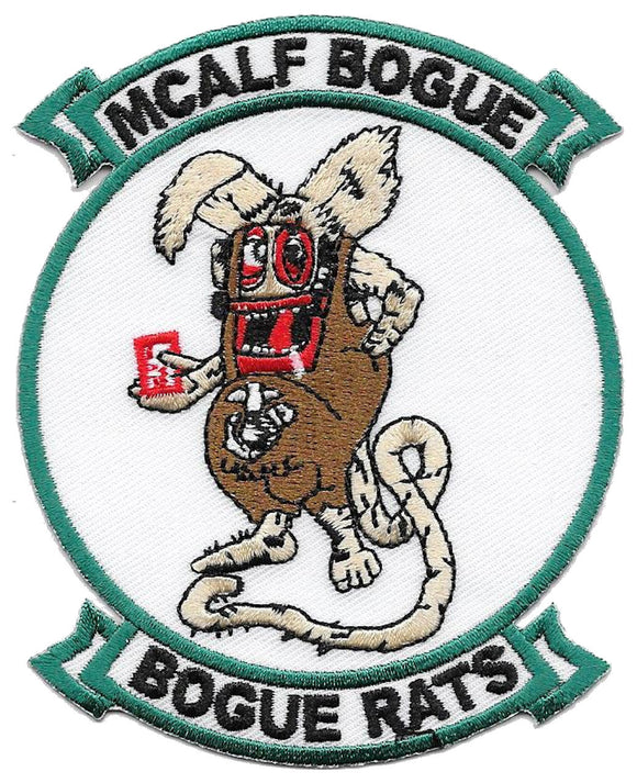MCALF Bogue Rats USMC Patch