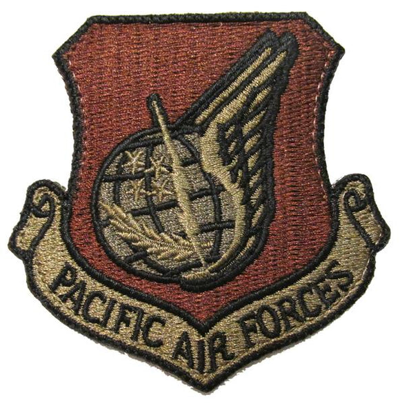Air Force Pacific Air Forces OCP Patch - Spice Brown