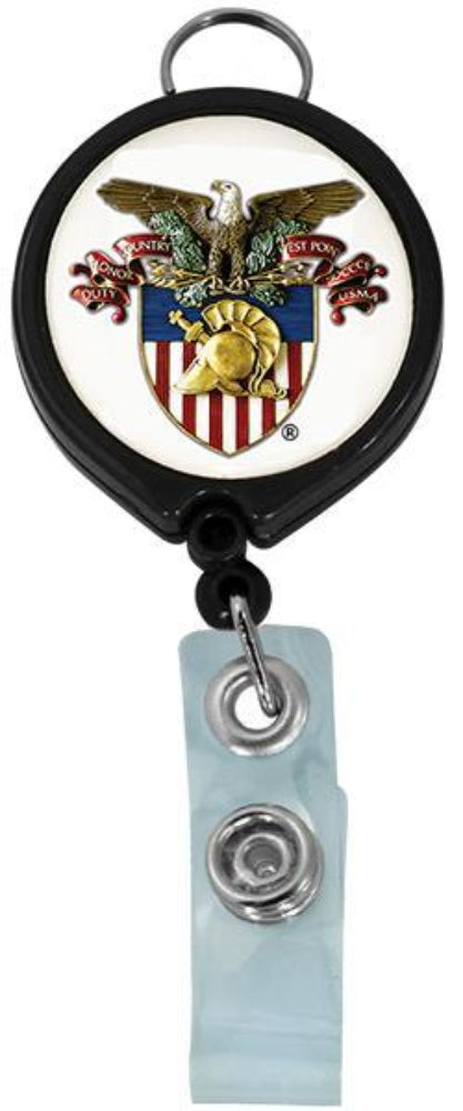 West Point Crest Retractable Badge Holder
