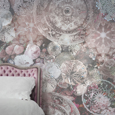 Crystalicious Crystal Design Wall Mural by Back to the Wall