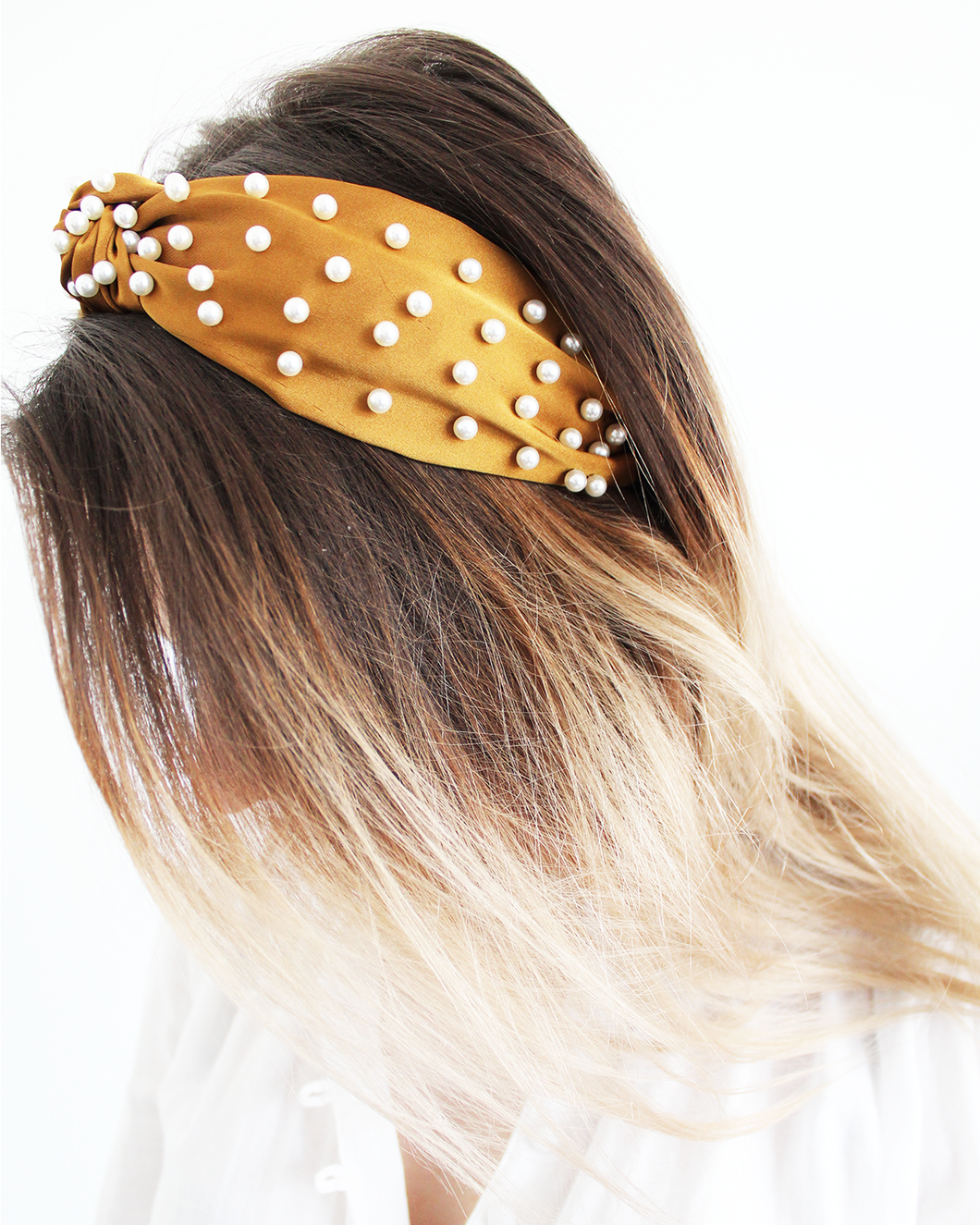 Scattered Pearls Headband