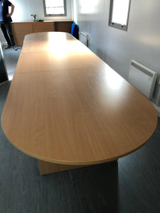 Beech Modular Meeting Table - Flogit2us.com
