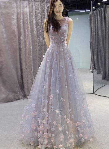 elegant flower gown