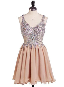 champagne homecoming dress 2019