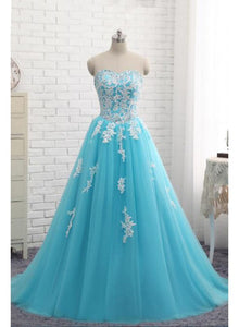 blue sweet 16 dress