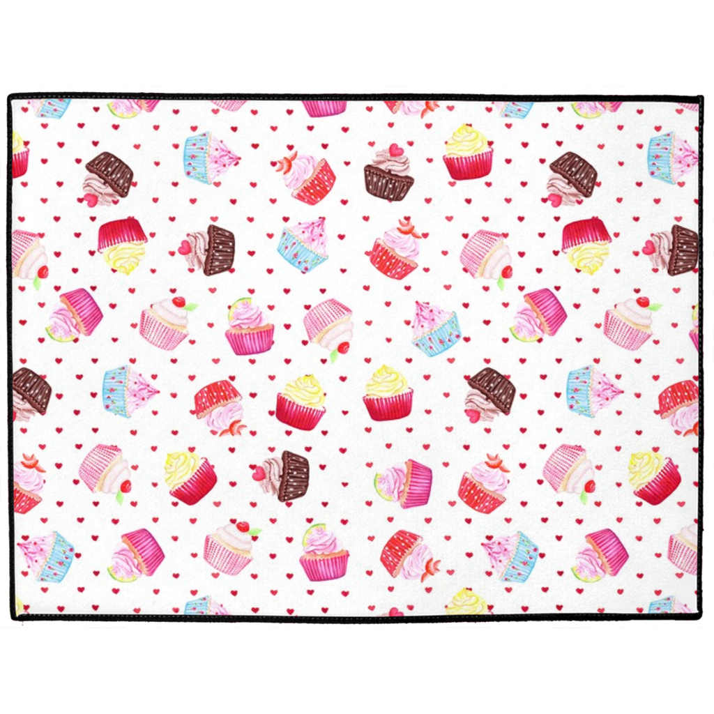 Hey Cupcake Indoor/Outdoor Floor Mat