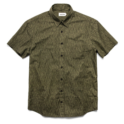 The Short Sleeve California in Rain Drop Camo