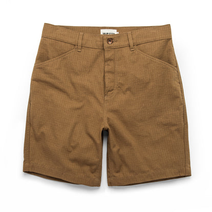 The Camp Short in British Khaki Ripstop