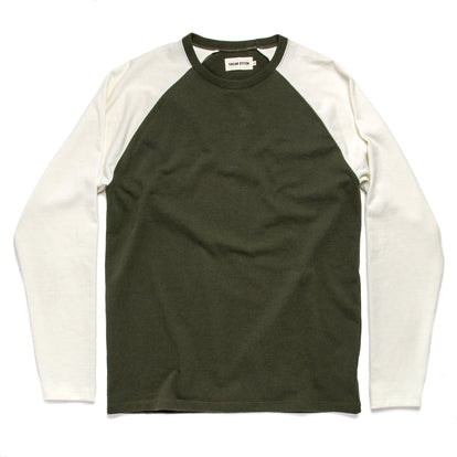 The Heavy Bag Baseball Tee in Cypress: Featured Image