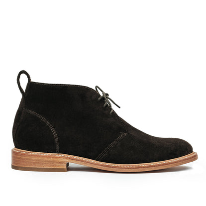 The Chukka in Weatherproof Chocolate Suede