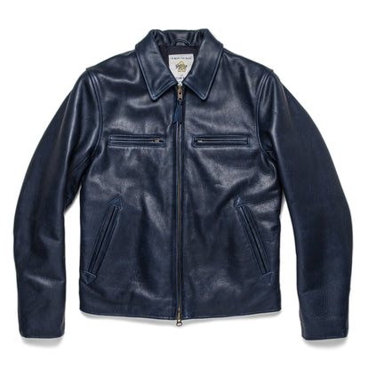 The Moto Jacket in Midnight Steerhide