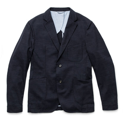 The Telegraph Jacket in Navy Slub